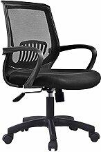 Bürostuhl Drehstuhl Schreibtischstuhl Bürosessel Chefsessel Stuhl C20M (schwarz)