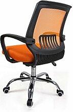 Bürostuhl Drehstuhl Schreibtischstuhl Bürosessel Chefsessel Stuhl C20M (orange)