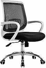 Bürostuhl Drehstuhl Schreibtischstuhl Bürosessel Chefsessel Stuhl C20M (weiß/black)