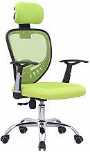 Bürostuhl Drehstuhl Schreibtischstuhl Bürosessel Chefsessel Stuhl D07 (grün)