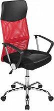 Bürostuhl Drehstuhl Schreibtischstuhl PU Leder Netzstoff Bürodrehstuhl Bürosessel Büro Dreh Stuhl Ro