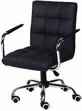 Bürostuhl Rotierenden Schwarz Komfortable