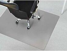 Bürostuhlunterlage Floordirekt Pro Teppich Grau