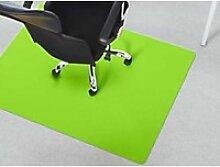 Bürostuhlunterlage Floordirekt Pro Teppich Grün