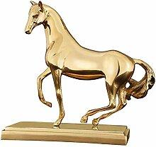 Bürotisch Pferdestatue Dekoration, Pferdeskulptur