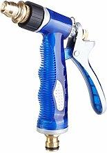 Bürste Auto Schaum Wasser Pistole Multi-Funktions-Auto Waschmaschine Hochdruck-Düse Home Bürste Auto Bewässerung Spritzpistole Kupfer Wasserdicht ( Farbe : A )