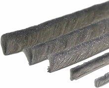 Bürstendichtung Meterware mit Nut von 5mm bis