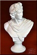 Büste Apollo Skulptur Statue Figur Gott Antik