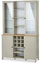Buffet-Schrank mit Glastüren und Stauraum