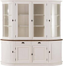Buffetschrank Brighton 212x52x213cm White&natural,