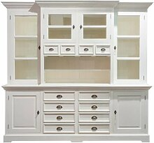 Buffetschrank Brighton 225x45x220 white, 225 × 45