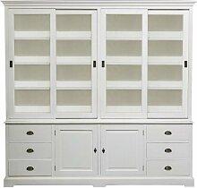 Buffetschrank Brighton 240x45x240cm white, 240 ×