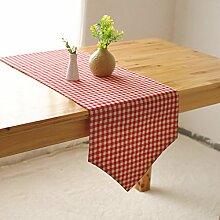 Buggy Einfache Fashion Kitchen Tisch Flagge Tischtuch Tabellen-Läufer/Tischläufer,A 30*322cm