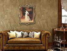 Buggy TV Hintergrund Wand moderner Minimalismus mottenfest antibakterielle nahtlose Schallabsorption Vlies Tuch antistatische Antifouling feuchtigkeitsbeständig Tapete 10 M * 0.53 m Wallpaper,C1122