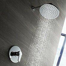 Buirsiz modern Verdeckte Dusche Wasserhahn