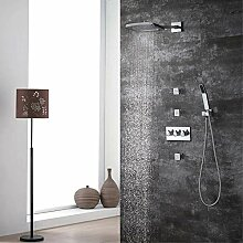 Buirsiz modern Verdeckte Dusche Wasserhahn Set