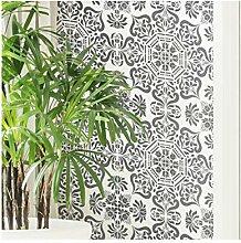 BUKHARA Fliese Wand Möbel Schablone für Malerei