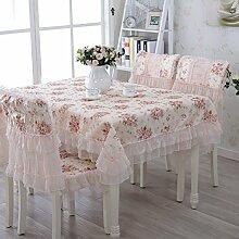 Bukolische Tabelle Tuchgewebe Spitzen Tischdecke