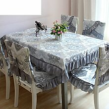 Bukolische Tabelle Tuchgewebe Tischtuch Tischdecke