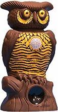 BulbHead Eule Alert Eule Statue – Pestizidfrei