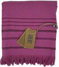 Buld&Co. Türkisches Frottee-Handtuch, gestreift,