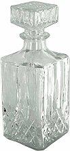 bulk buys OL279 Dekanter aus Glas, Natur
