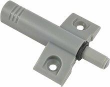 Bulk Hardware BH00779 Türdämpfer/-stopper, Grau / Weiß, 2 Stück