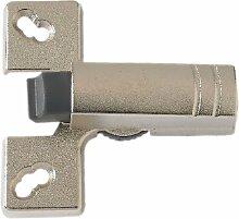 Bulk Hardware BH00780 Türdämpfer/-stopper, Zinklegierung / Weiß