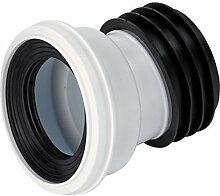 Bulk Hardware BH02927 Auslass-Schüsselverbinder 104 Grad, Weiß