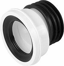 Bulk Hardware BH02929 Versetzter Auslass Schüsselverbinder, Weiß