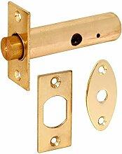 Bulk Hardware bh0474763mm vermessingt Tür Rack Bolt–Gelb