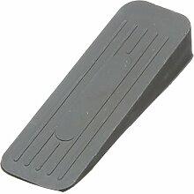 Bulk Hardware bh04892schwere Pflicht rutschfesten Gummi Türkeil grau Stopper, Set von 2Stück