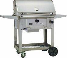 BULL Bison Charcoal Cart Grill Holzkohlegrill Holz