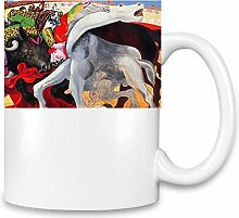 Bull Fight Picasso Painting Kaffee Becher