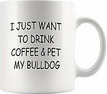 Bulldogge Becher