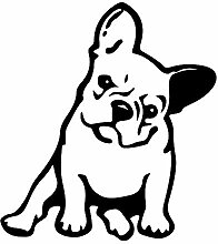 Bulldogge Hund Schöne Pet Auto Aufkleber Motorrad