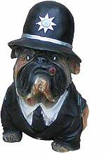 Bulldogge Polizei - Hundefiguren - Lustige