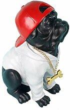 Bulldogge Statue, Hund Statue Modell kreative