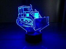 Bulldozer Touch Tischlampe 7 Farben Soil Shifter