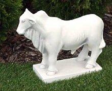 Bulle (S103042) Gartendeko Tierfiguren Steinguss