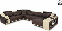Bullhoff by Giovanni Capellini Leder Couch Sofa