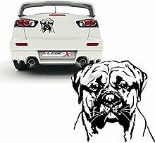 Bullmastiff Hundeaufkleber Dekoration für Wände Autotattoo Folienschnitt Hunde | KB601
