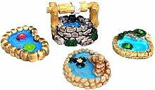 Bullout Miniatur Garten Zubehör - Feengarten
