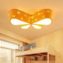 Buluke Mode Dekoration Kinderzimmer Schlafzimmer LED Butterfly Deckenleuchte, grün