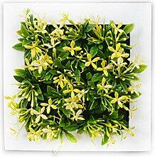 Buluke Tolle Muttertagsgeschenk Kreative Home Wohnzimmer TV Hintergrund Wanddekoration stereoskopischen 3D-Simulation Pflanze Blume, EIN