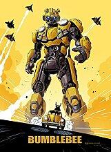 Bumblebee – Film Poster Plakat Drucken Bild -