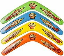 Bumerang Boomerang 4 Stück ca. 30 cm Spielzeug