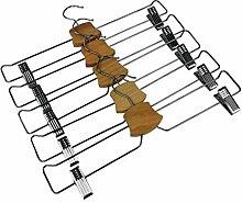 Bumerang Hosenbügel für Röcke, verchromt, 5