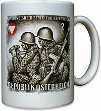 Bundesheer Österreich Republik Austria Soldaten Militär - Tasse Becher Kaffee #10299