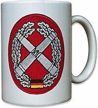 Bundeswehr Bund Bw Artillerie Barettabzeichen